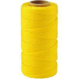 250' Yellow Braided Nylon #18 Mason Line thumb