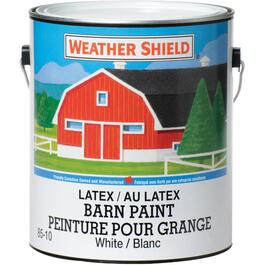 3.7L White Exterior Latex Barn Paint thumb