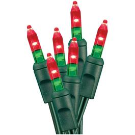 50 LED Red and Green M5 Light Set thumb