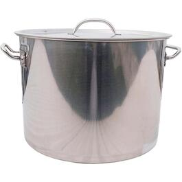 40 Quart Stainless Steel Fryer Pot, with Lid thumb