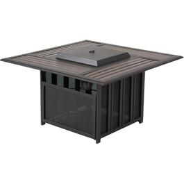 "46"" Dalton Steel Propane Firepit Coffee Table thumb"