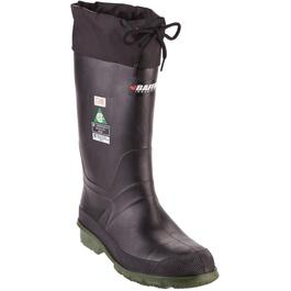 Men's Size 10 Green Lined CSA Rated Rubber Boots thumb