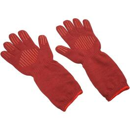 2 Pack Long Sleeve 'Ove' Silicone Thermal Oven Glove thumb