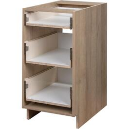 "18"" 3-Drawer Organic Knockdown Base Cabinet thumb"