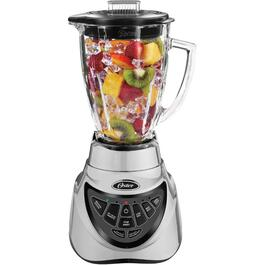 700 Watt 7 Speed Chrome Digital Blender, with Glass Jar thumb