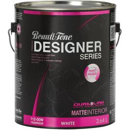 3.64L White Base Matte Finish Interior Latex Paint thumb
