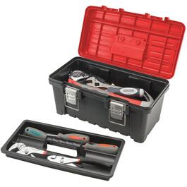 "15.9"" x 8.9"" x 7.7"" Tool Box, with Plastic Tray thumb"
