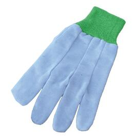Ladies One Size 8oz Cotton Garden Gloves, Assorted Colours thumb