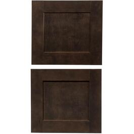 "2 Pack 16.5"" x 15"" Midnight Bridge Cabinet Doors thumb"