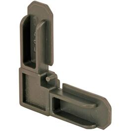 "100 Pack 7/16"" Bronze Screen Frame Corners thumb"