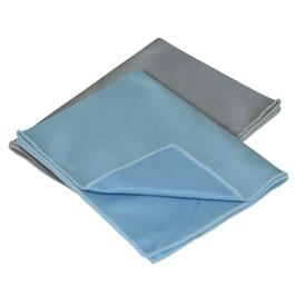 "2 Pack 12"" x 16"" Microfiber Glass Towels thumb"