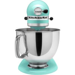 325 Watt 10 Speed Ice Blue Stand Mixer, with 5 Quart Bowl thumb