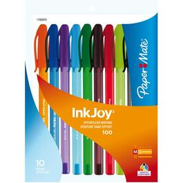 10 Pack Multi-Coloured Fashion Inkjoy Pens thumb