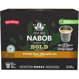30 Pack Single Serve Nabob Full City Dark Roast Coffee Cups thumb