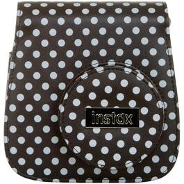 Black and White Polka Dot Instax Mini 8 Camera Case thumb