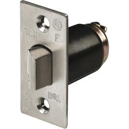 "2-3/8"" Stainless Steel Commercial Unguarded Passage/Privacy Door Latch thumb"