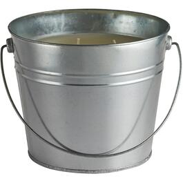 120oz Citronella Tin Bucket Candle, with Lid thumb