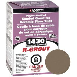 7lb Mocha Sanded Floor Grout thumb