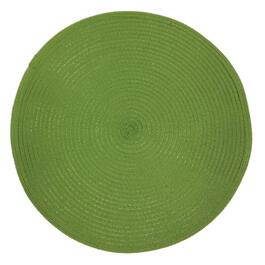 "15"" Round Green Outdoor Placemat thumb"