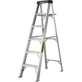6' #1A Aluminum Step Ladder thumb