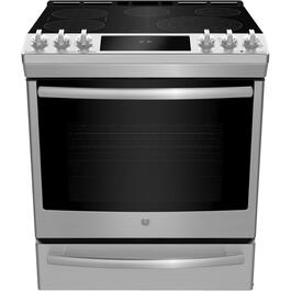 "30"" 6.2 cu. ft. Stainless Steel Slide-In Electric Range thumb"