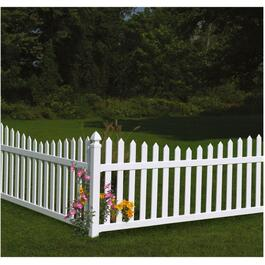 8' Newbury Scalop Panel Fence thumb