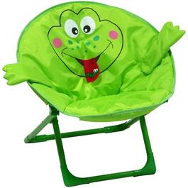 Child's Green Frog Moon Chair thumb