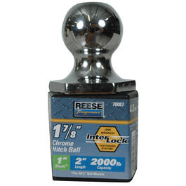 2000lb Capacity Hitch Ball thumb