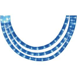 15' Blue LED Round Ropelight thumb