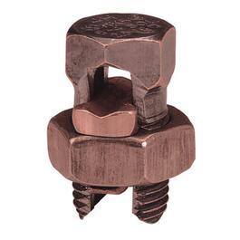 Size 4-8 Bronze Split Bolt Connector thumb