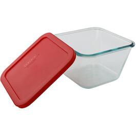 6-1/2 Cup Square Storage Dish, with Cover thumb