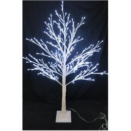 "72"" Indoor/Outdoor White Twig Tree, with 288 LED White Twinkle Lights thumb"