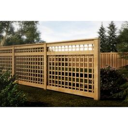 6' Cedar Trellis Package, with Screen thumb