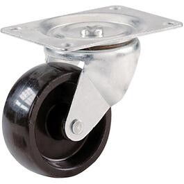 "4"" Polypropylene Wheel Swivel Plate Caster thumb"