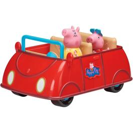 Peppa Pig's Red Car, with Peppa and Mummy Pig thumb