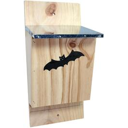 Pine Metal Roof Bat House, holds up to 24 Bats thumb
