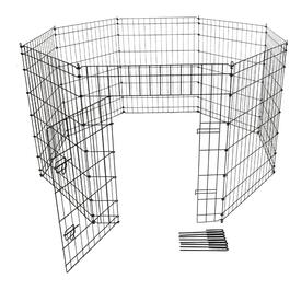 "6' Circumference x 36"" H Wire Pet Exercise Pen thumb"