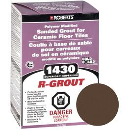 7lb Chocolate Sanded Floor Grout thumb
