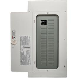 100 Amp 30/60 Circuit Arc Fault Loadcentre with Panel and Breaker thumb