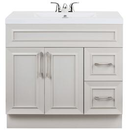 "36"" x 21"" Monroe Morning Dew 2 Door 2 Drawer Vanity thumb"