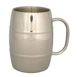 Stainless Steel Insulated Camping Beer Mug thumb