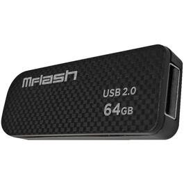 Carbon Fibre 64GB USB 2.0 Flash Drive thumb