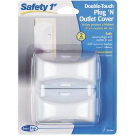 2 Pack Double Touch Outlet Covers thumb