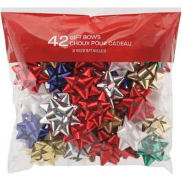 42 Pack Deluxe Gift Bows, Assorted Colours thumb