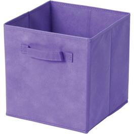 Light Purple/Violet Fabric Storage Drawer thumb