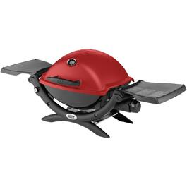 Q1200 Series 189 sq. in. 8,500BTU Table Top Red Propane Barbecue thumb