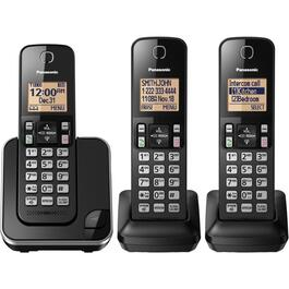 3 Pack Dect 6.0 Cordless Phones, with Caller Identification thumb
