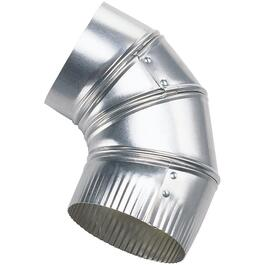 "4"" Adjustable Dryer Vent Elbow thumb"