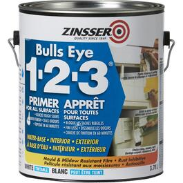 3.7L 1-2-3 Bulls Eye Latex Primer Sealer thumb