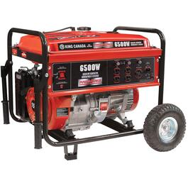 6,500 Watt 15HP Portable Gas Generator, with Recoil Start thumb